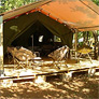 Tentwoning op camping Le Conleau, safaritent